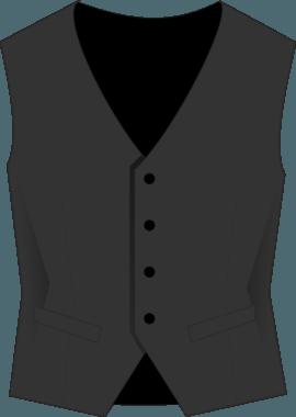 Жилетка администратора костюмная